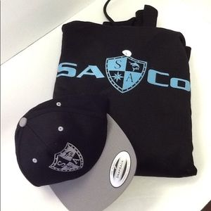 Other - Sa&Co Sweater Hoodie w/ Hat Bundle